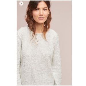 Anthropologie Shine Sweatshirt Top NWT Small New